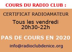 cours radioamateurs